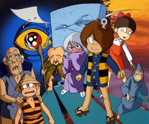 【ポコポコ】ゲゲゲの鬼太郎コラボのキャラクターは集まったかな?!鬼太郎、目玉おやじ、子泣きじじい、砂かけばばあ、一反もめん、ぬりかべ、ねずみ男