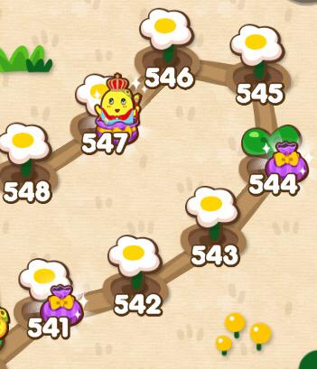 【ポコポコ】通常ステージ544(エリア37) 難易度高すぎて星花咲かせることは出来ない!?
