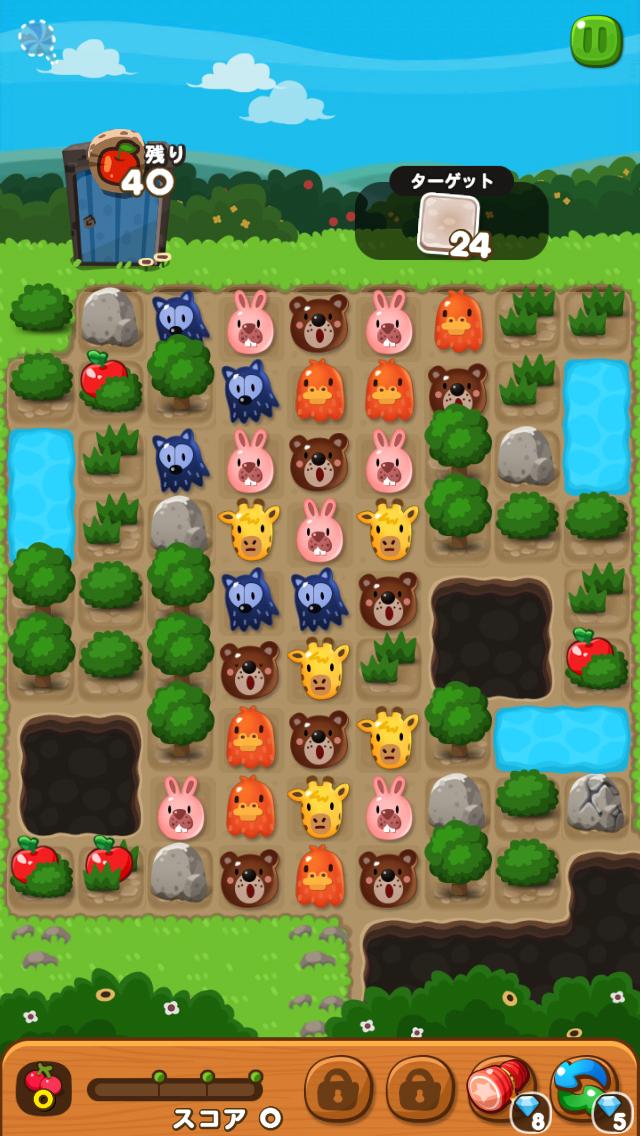 【ポコポコ】【ステージ128】最難関!ポコポコの中でも1番滞在時間が長くなるためクリアにリンゴ不可欠!
